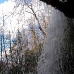 Behind Grotto Falls watermark