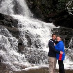 Kenny and Karen at Laurel Falls