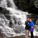 Kenny and Karen at Laurel Falls