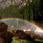 Rainbow on Misty Trail