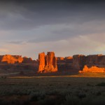 Sunset at Arches versions 2