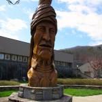 wooden carving cherokee museum watermark