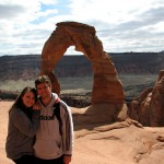 Kenny and Karen at Delicate Arch