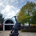 Entrance to the Gilcrease Museum