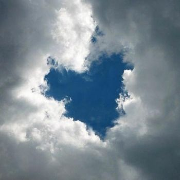 heart cloud Sunday Scripture – Psalm 63:3
