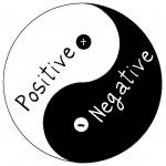 postive negative