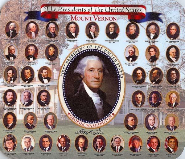 U.S. Presidents Monday Musing: President's Day Quiz