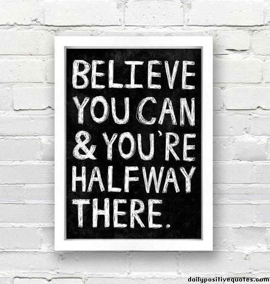 believe Teaching Tip: Get Them to Believe in Themselves