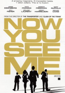 Now You See Me 209x300 Summer Movies 2013