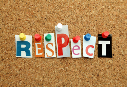 Teaching Tip: Gain Respect