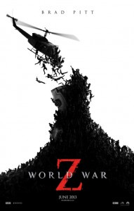 world war z 191x300 Summer Movies 2013