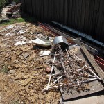 Cleaning Up the Rubble:Backyard Remodel Part 1