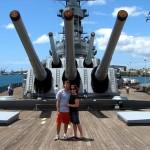 USS Missouri: Oahu