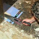 Kitchen Remodel- Laying the Stone Tile