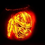 Pumpkin Carving: Kansas City Chiefs Pumpkin