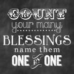 What Makes Our Marriage Work: Count Your Blessings