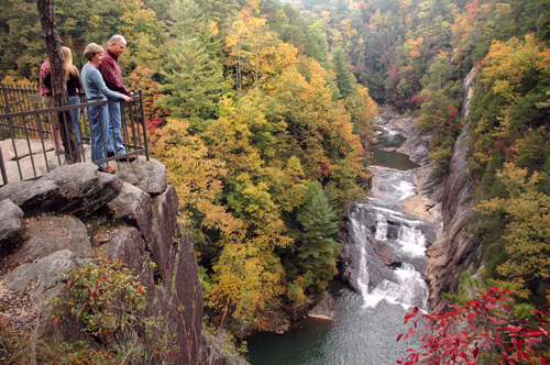tallulah gorge Best State Parks in America