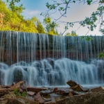 Cowley Lake Waterfall: Kansas