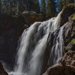 Moose Falls: Yellowstone National Park
