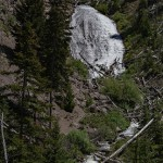 Wraith Falls: Yellowstone National Park