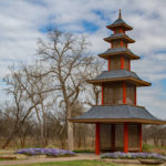 Pagoda at Lucy Park